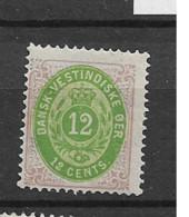 1873 MH Dänisch-West Indien, Facit 11 - Danemark (Antilles)