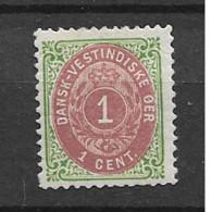 1898 MH Dänisch-West Indien, Facit 14 - Danemark (Antilles)