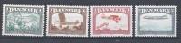 Danemark 1981 Série Neuve**  N° 742/745 Vols Aériens, Avions - Ungebraucht