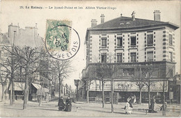 CPA Le Raincy Le Rond-Point Et Les Allées Victor Hugo - Le Raincy