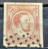 CARLOS VII-1/2 R-VALENCIA-SPAIN-1874 - Oblitérés