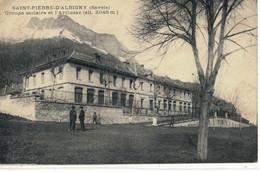 CPA  SAINT-PIERRE-D'ALBIGNY   Le Groupe Scolaire - Saint Pierre D'Albigny