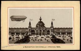Belgium 1894 Antwerp Airship Zeppelin Picture 77050 - Zonder Classificatie