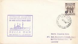 Australia AAT Ant Arctica Cover 1966 - Covers & Documents