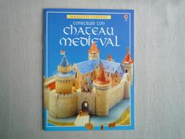 Maquette USBORNE Construis Ton Chateau Médièval 1997. - Altri
