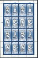 DDR 3241/44 II ** Kleinbogen Mi. 11,- + - Unused Stamps
