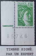 R1337/614 - 1977/1978 - TYPE SABINE DE GANDON - N°2101a NEUF** CdF ➤➤➤ Signé CALVES Expert - VARIETE ➤➤➤ Sans PHO - Variedades: 1970-79 Nuevos