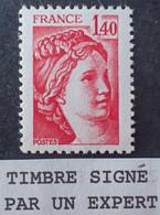 R1337/616 - 1980 - TYPE SABINE DE GANDON - N°2102a NEUF** ➤➤➤ Signé CALVES Expert - VARIETE ➤➤➤ Sans PHO - Variedades: 1980-89 Nuevos