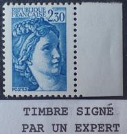 R1337/617 - 1981 - TYPE SABINE DE GANDON - N°2156a NEUF** BdF ➤➤➤ Signé CALVES Expert - VARIETE ➤➤➤ Sans PHO - Variedades: 1980-89 Nuevos