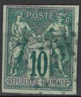 France, Colonies, General Issues - Französische Kolonien - Allgemeine Ausgaben 1877/1879. Mi.Nr. 28, Used O - Sage