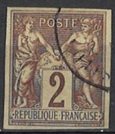 France, Colonies, General Issues - Französische Kolonien - Allgemeine Ausgaben 1878/1880. Mi.Nr. 37, Used O - Sage