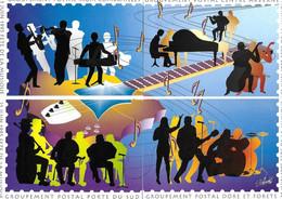 En Avant La Musique - Fête 21  Juin 1995 Clermont Ferrand - Puzzle De 4 Cartes - Combrailles - Volcans D'Auvergne - Manifestazioni