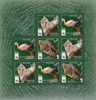 RUSSIE/RUSSIA/RUSSLAND/ROSJA 2007 MI.1434-36 ** , ,ZAG.1202-04 ,YVERT. .7013-15.., WWF, Stork, Bisoin, Snow Panter, M - Unused Stamps