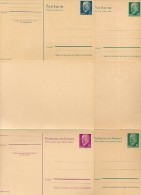 DDR  P75-78  Postkarten ULBRICHT 2. Ausgabe 1966  Kat. 63,50 € - Postales - Nuevos