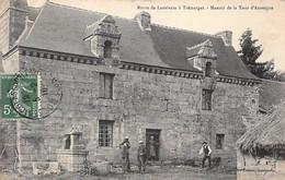 Route De Lanrivain à Trémargat - Manoir De La Tour D'Auvergne - Très Bon état - Other Municipalities