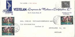 Portugal Cover Madeira Stamps And FIGUEIRA DA FOZ Cancel - Briefe U. Dokumente