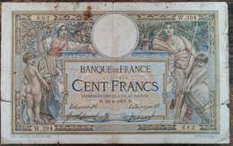 Billet 100 Francs LUC OLIVIER MERSON  24 = 6 = 1908  FRANCE  W.294  (cf Photos)  LOM - 100 F 1908-1939 ''Luc Olivier Merson''