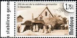 "Moldova 2014 ""Bicentenary Of Germans Settlement In Bessarabia"" 1v Quality:100% - Moldavia"