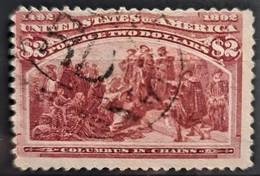 USA 1893 - MLH - Sc# 242 - Columbus Issue 2$ - Usados