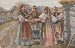 Costumes   Russe Bulgare Polgne - Trachten