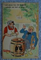 CPA 1933 Publicité Bière De Gheest - Alost / Dessin De GUY - Pubblicitari