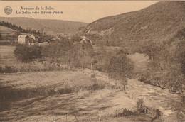 Trois Ponts : La Salm En Amont Du Pont De Ghlain, 2 Scans - Trois-Ponts