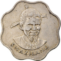 Monnaie, Swaziland, Sobhuza II, 10 Cents, 1979, British Royal Mint, TTB - Swaziland