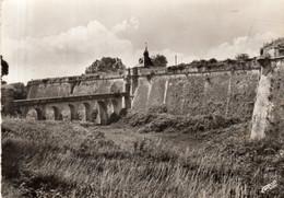 Dept 33,Gironde,Cpsm Blaye,Les Fossés Et La Forteresse Du XVIIe Siècle - Blaye