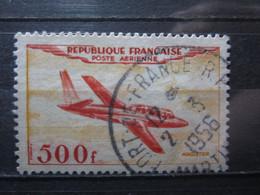 """VEND BEAU TIMBRE DE POSTE AERIENNE DE FRANCE N° 32 , OBLITERATION """" FORT-DE-FRANCE """" !!! - Airmail"""