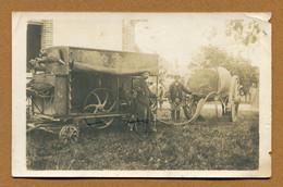 """ROMILLY-SUR-SEINE  (10) : """" SCENE AGRICOLE """"  Carte Photo - Romilly-sur-Seine"""