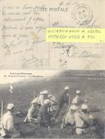CONVOYEUR BUSSEAU D'AHUN A USSEL TàD 10-10-14 POTHION 1130 ALLER TYPE III - Correo Ferroviario