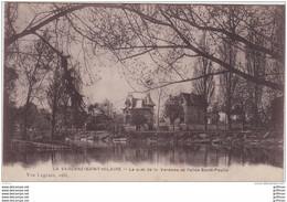 LA VARENNE SAINT HILAIRE LE QUAI DE LA VARENNE ET L'ALLEE SAINT PAULIN 1916 TBE - Saint Maur Des Fosses