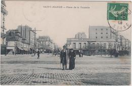 SAINT MANDE PLACE DE LA TOURELLE 1909 TBE - Saint Mande