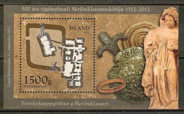 ISLANDE B.F. N°57** - Cote 10.00 € - Blocks & Kleinbögen