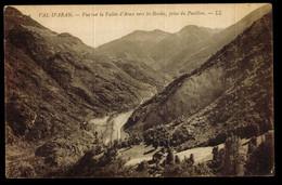 CPA ESPAGNE VAL D'ARAN N°2 VUE SUR LA VALLEE D'ARAN VERS LES BORDES PRISE DU PAVILLON LL 1909 - Autres