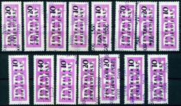 """DDR 1956 Michel-# Aus ZKD 10-15 """" 15 Marken Alle Mit Kontrollziffern In ** """" Michel ? € - Nuevos"""