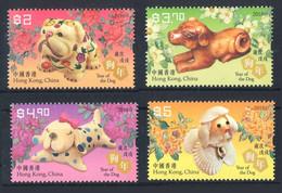 Hong Kong 2018. Chine. Chinese New Year. Year Of Dog. MNH - Nuevos