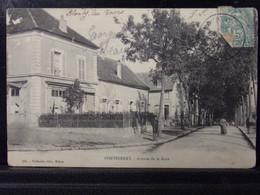 77286 . PONTHIERRY . AVENUE DE LA GARE .  CIRCULEE . 1907 - Andere Gemeenten