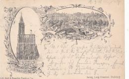 CPA-(Rare Précurseur 1888) -67 -Strasbourg (c) - Multivues  ( Voir Description)-Envoi Gratuit - Kroatien