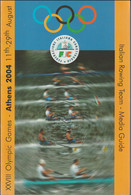 Italy Brochure Athens Olympic Games 2004 - Media Guide For The Italian Rowing Team - 82 Pages - Italian (LAR10-33) - Estate 2004: Atene