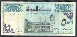 Sudan - 50 Dinars 1992 - Pick 54c - Soudan