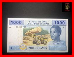"""CENTRAL AFRICAN STATES  """"A""""   GABON  1.000 1000 Francs 2002  P. 407 A    UNC - Central African States"""