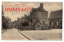 CPA - Jarzé - Hôtel Des Postes Place De L' Eglise ( Canton De Angers 8 49 Maine Et Loire ) N° 209 - Coll. Mme F. Lemée - Angers