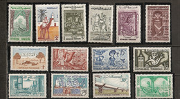 1959 - 471 à 496 *MH - Série Courante - Tunisia (1956-...)