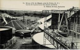 87 / Mines D' Or De Cheni - Cuves De Cyanuration Des Boues Aurifères - Andere Gemeenten