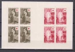 France. Carnet Croix-Rouge 1956. Neufs **. - Collezioni