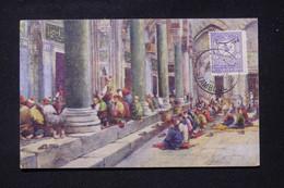 TURQUIE - Affranchissement Surchargé De Stanboul Sur Carte Postale Pour La France - L 87402 - Covers & Documents