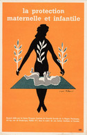 BUVARD & BLOTTER - LA SECURITE SOCIALE La Protection Maternelle Infantile - Illustration Villemot - Ohne Zuordnung