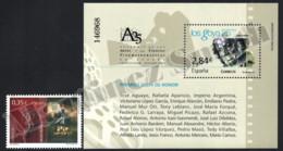 Spain - Espagne 2011 Yvert 4310, Spanish Cinema, 25th Ann. Goya Awards - Miniature Sheet - MNH - 2011-... Unused Stamps