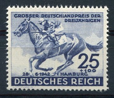 RC 20082 ALLEMAGNE COTE 22€ N° 738 DERBY DE HAMBOURG CHEVAL NEUF ** MNH TB - Sin Clasificación